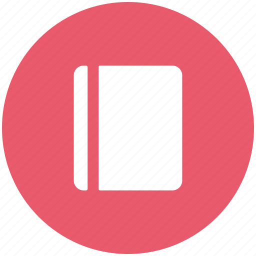 address book, book, diary, notebook, notepad, reading book icon