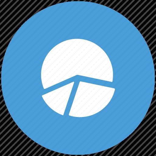 business analytics, graph, pie, pie chart, statistics, user statistics, visitor analytics icon