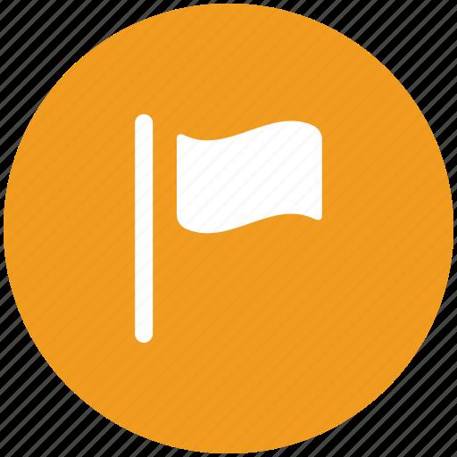 cloth ensign, clothing flag, ensign, flag, raising flag, white flag icon