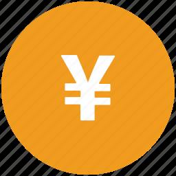 finance, finance sign, japanese yen, yen icon