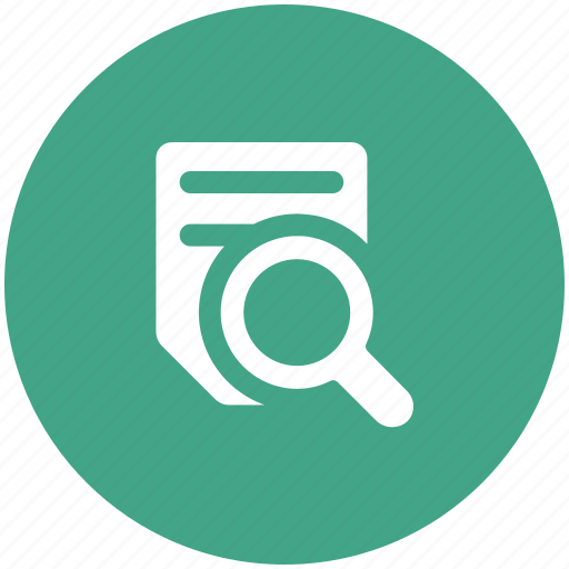 magnifier, online searching, paper searching, search test, text, text searching icon