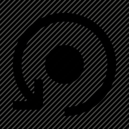 arrow, backup, refresh, sync icon