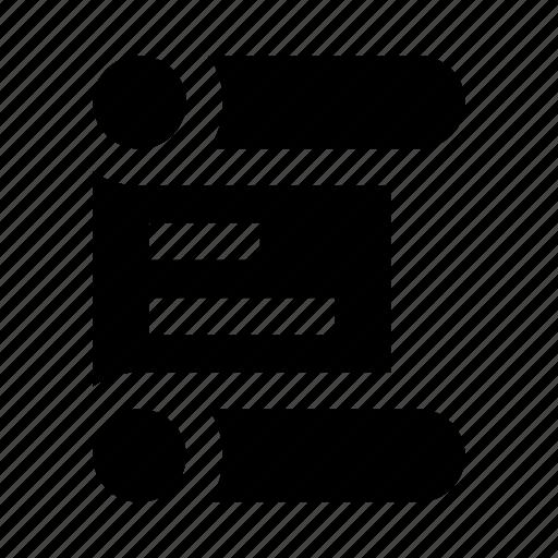 js, manuscript, roll, script, scroll icon