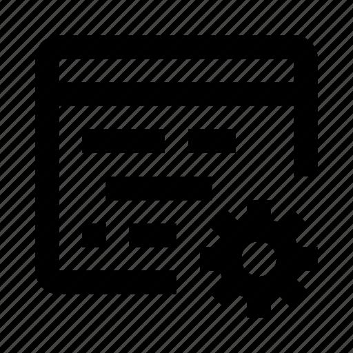 code, coding, cogwheel, editor, preferences, programming, settings icon