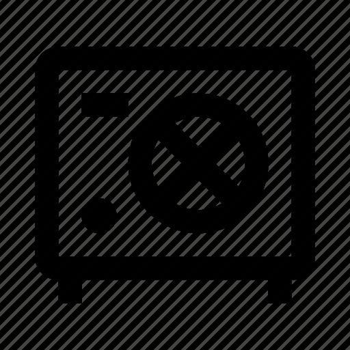 data, deposit, safe, secure icon