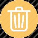 bin, delete, dustbin, garbage, mobile icon