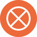 ban, banned, block, hide, off icon