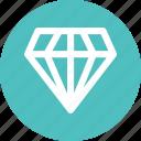 adamant, crystal, diamond, finance, gemstone icon