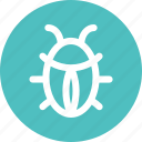 antivirus, bug, fixing, insect, ladybug icon