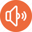 audio, no mute, sound, speaker, volume icon