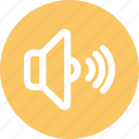 audio, low, sound, speaker, volume icon