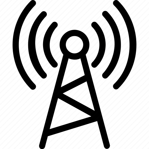 antenna, communication, signals, wifi, wifi tower icon