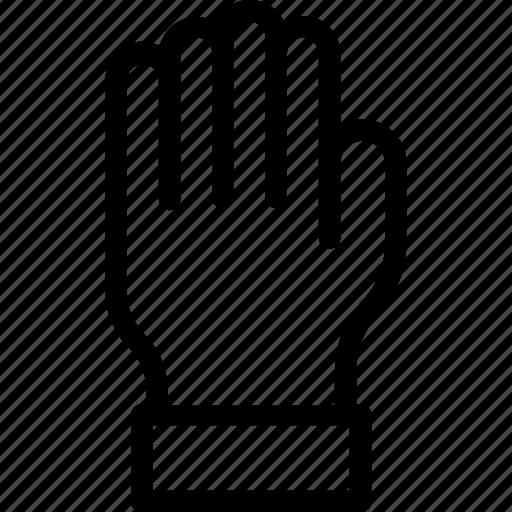 body part, glove, hand, left hand, organ icon