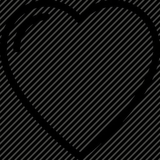 bookmark, heart, like, love, valentine icon
