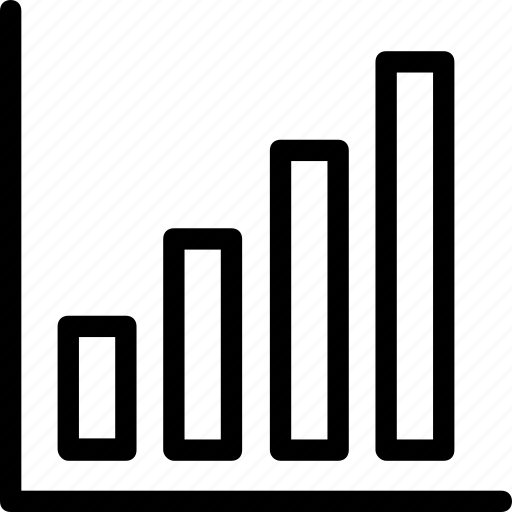 Analytics, bar chart, bar graph, growth, statistics icon - Download on Iconfinder