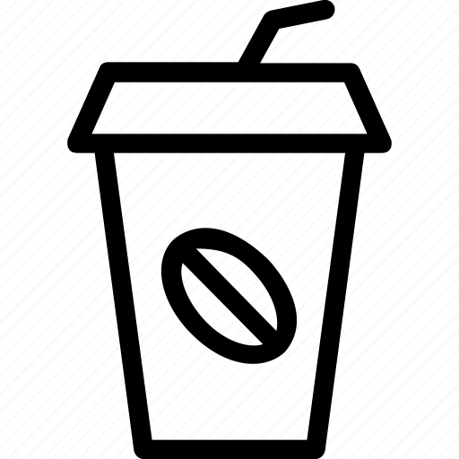 coffee, cup, disposable cup, drink, espresso icon