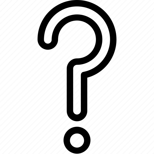 ask, faq, help, query, question mark icon