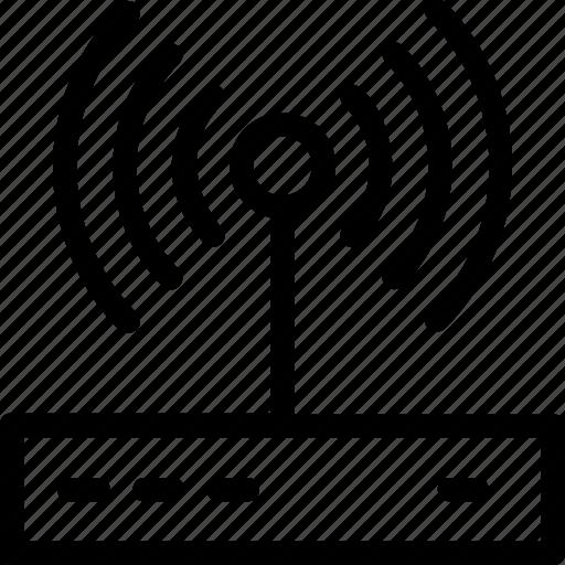internet, modem, wifi, wifi router, wlan icon