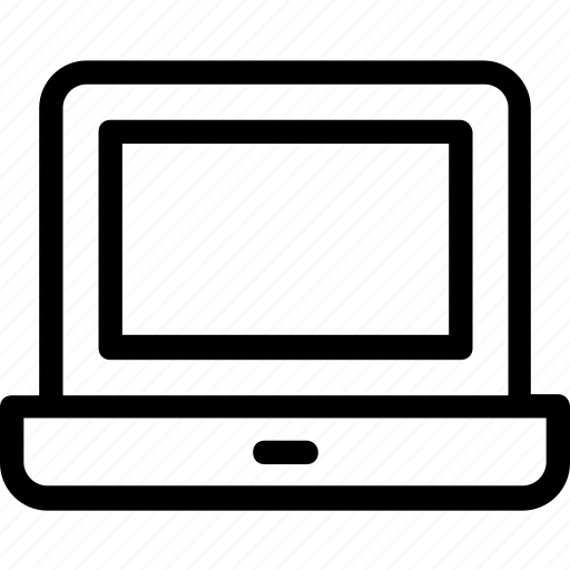 laptop, macbook, notebook, pc, technology icon