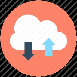 cloud computing, cloud network, cloud sharing, network sharing, server cloud icon