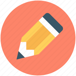 crayon, pencil, pencil tip, write, write pencil tip, writing tool icon