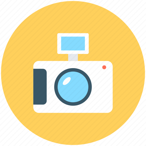 camera, digital camera, flash camera, photography, picture icon