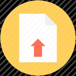 document uploading, file upload, upload button, uploading, uploading tray icon