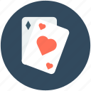 casino, casino card, heart card, play card, poker card icon