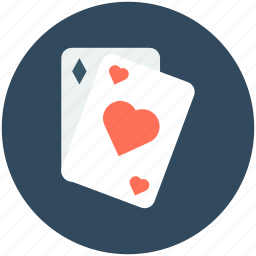 casino, casino card, heart card, play card, poker card icon