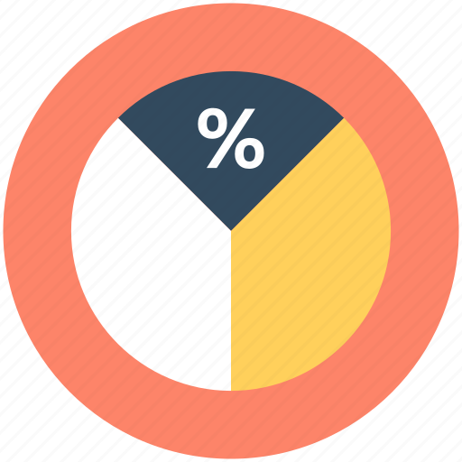 diagram, graph, pie chart, pie graph icon