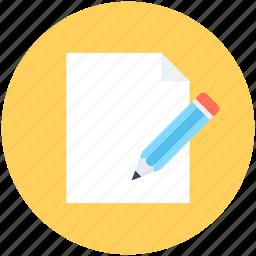 compose, document, edit, pen, write icon
