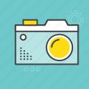 digital camera, flash camera, image, photo camera, photography icon