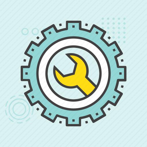 cog, cogwheel, custom settings, gear, uploading settings icon