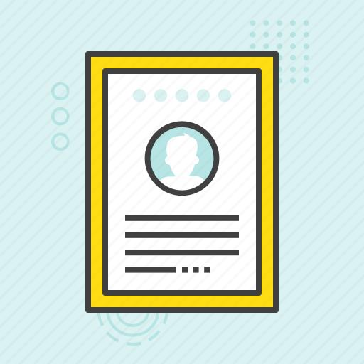 application form curriculum vitae cv job application resume icon