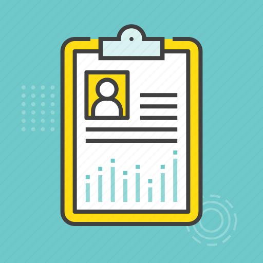 clipboard, clipboard list, memo, prescription, report icon