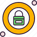 lock, locked, protection, security