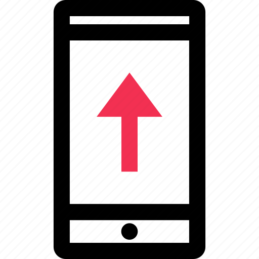arrow, data, send, up, upload icon