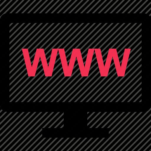 connect, internet, online, website, www icon