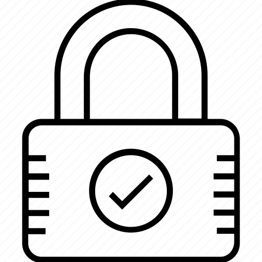 lock, padlock, password, security, security padlock icon