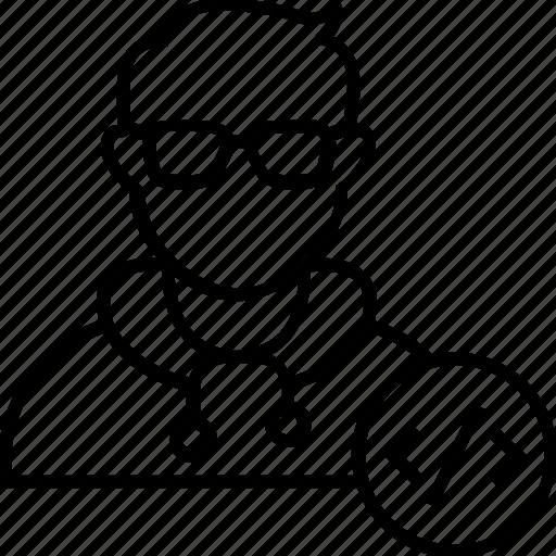 Avatar, coder, developer, man, programmer icon - Download on Iconfinder