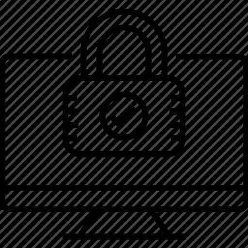 computer security, lock, padlock, security, security padlock icon