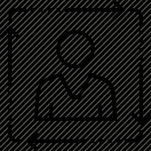 account, avatar, person, user, user prediction icon