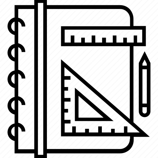 design, draft, geometry, illustration, sketching icon