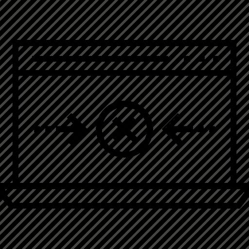 connection error, dc, disconnect, page error, website icon