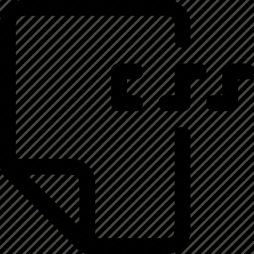 css, data, document, file icon
