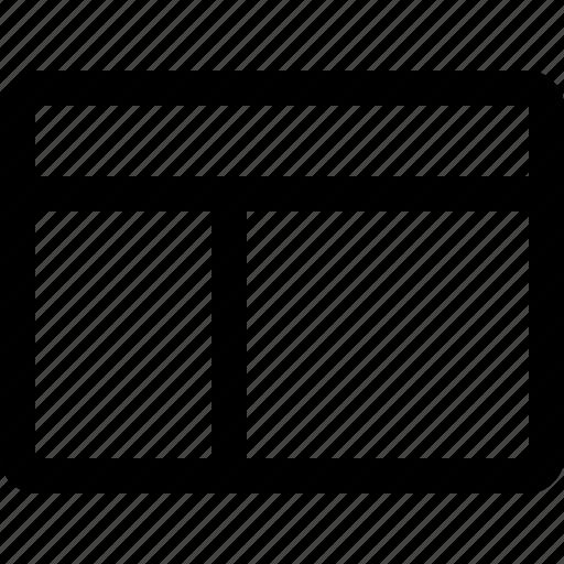 border, table icon