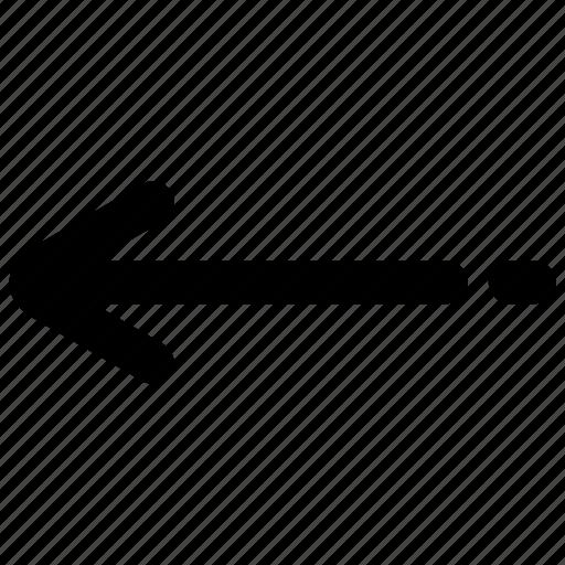 arrow, left, marketing, seo, technology, web, website icon