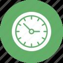 hour clock, time clock, time machine, vintage clock icon
