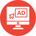 ads, advertisement, digital ad, digital advertisement icon