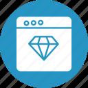 online web quality, premium website, web discount, web quality icon